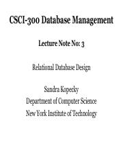CSCI-300 Lecture 3
