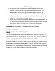 1984 Book 2 chapter 3 docx - 1984 Part 2 Chapter 3 One