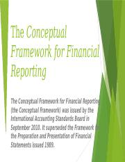 The conceptual Framework for Financial Reporting.pptx