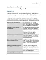Appendix F Worksheet