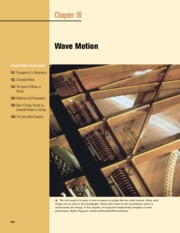 16 - Wave Motion