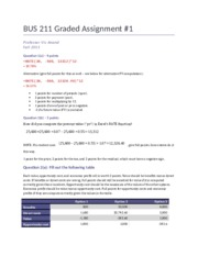 BUS 211 Graded Assignment 1 SOLUTION.docx