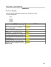 appendix a communication styles worksheet Understand your own communication style – diagnose the  1-complete the  communication style survey & review scores  style worksheet: 1-how would .