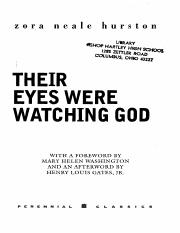 Their Eyes Were Watching God Full Book PDF.pdf