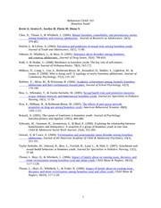 gender role reaction paper Check out a list of interesting and original topics for your upcoming paper on gender the paper might be devoted to the reaction of role of gender in.