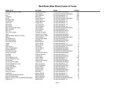 Real Book (Sher Music) Index of Tunes.pdf