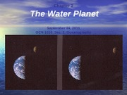 CHAP2-2011-Fall-TheWaterPlanet