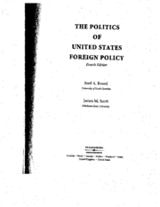 Politics of American Foreign Policy