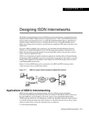 Designing ISDN Internetworks