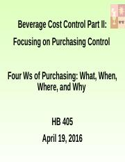 Beverage cost control Part II_control vs open states on April 19_D2L.pptx