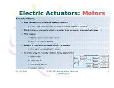 Lecture 14-Electric Motors