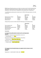 ACC 349 Week 2 Team Assignment Problems  Ch. 2 & 3