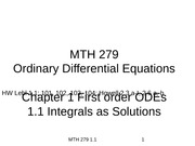 1.1 Integrals as Solutions(2)