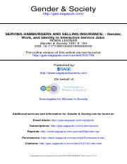 Leidner_Serving+Hamburgers+and+Selling+Insurance