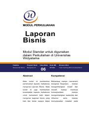 2 Pengorganisasian Laporan Analitikal Berbeda Dengan Laporan Informasional Course Hero