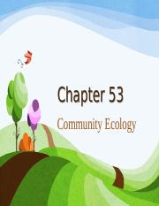 53CommunityEcology.pps