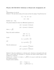Physics 325 HW 5 Solutions