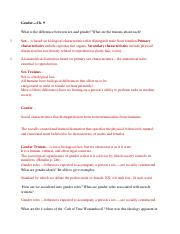 SOCI TEST #3 Study Guide