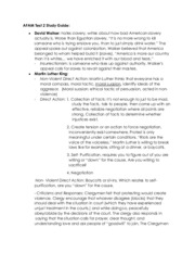 AFAM Test 2 Study Guide