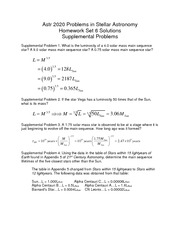 Homework Set 6 Solutions