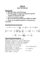 Unit 1 Equation Sheet
