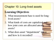 ACCT303 Chapter 10 teaching pp
