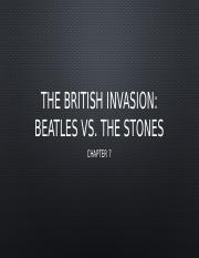 7 The British Invasion