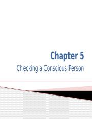 Chap 5 Checking the Conscious Person (1).pptx