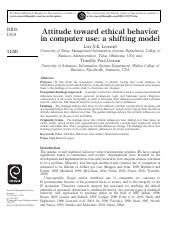 Attitude toward ethical behavior.pdf