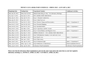 PHYS1122_LABORATORY_SCHEDULE_SPRING_2012