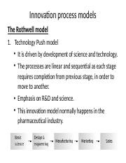 Rothwell model - inno