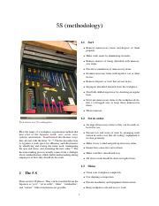 5S (methodology)