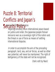 JapanesePolitics_2015_Puzzle8_Security
