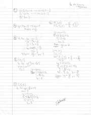 Linear Equations Solved Homework Solutions