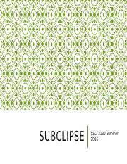 Subclipse.pptx