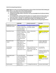 Unit 0 Structuring Strong Sentences Study Guide--student.docx
