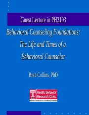 TU_BCounseling_lecture_PH3103.ppt