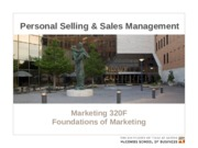 MKTG 17 - Personal Selling - Key Slides - 320F