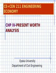 Chapter 4- Present Worth Analysis (1).ppt