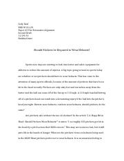 ENG Paper #5 The Persuasive Argument Second Draft .docx