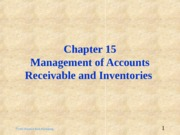 ch15_-_Management_of_Recievables_and_Inventories