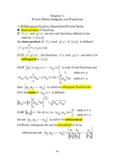 chapter 11  Fourier Series, Integrals, and Transforms