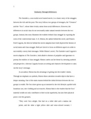 A Modest Proposal Essay The Outsiders Essay Isu   Similarity Through Differences The Outsiders A  Successful Novel Turned Movie Is A Classic Story Of The Struggles Between  The Essay On Global Warming In English also Essay On Library In English The Outsiders Essay Isu   Similarity Through Differences The  High School Argumentative Essay Topics