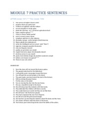study guide module 6 Module 6 study guide for post test 1 you are administering a flu vaccine to a patient you perform hand hygiene, locate your site and swab with alcohol.