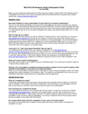 HR+Research+Study+Participation+FAQs+-+Fall2009