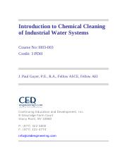 Chem Clean Ind Water Systems