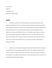 just walk on by essay sophiediller essay english wordcount 5 pages black men in pulic space