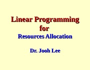 OM(L06)-Linear Programming (Graphic Solution) (O)