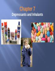 Chapter 7 depressants and inhalants-2