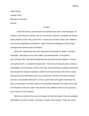 Essay for the short story